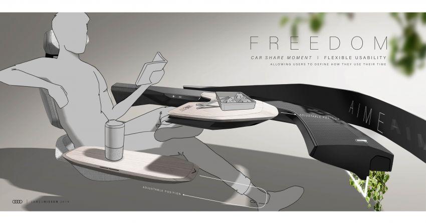 Audi AI:ME – kereta autonomous untuk bandar besar Image #948106