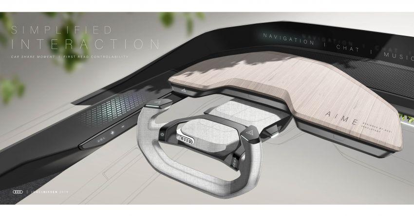 Audi AI:ME – kereta autonomous untuk bandar besar Image #948108