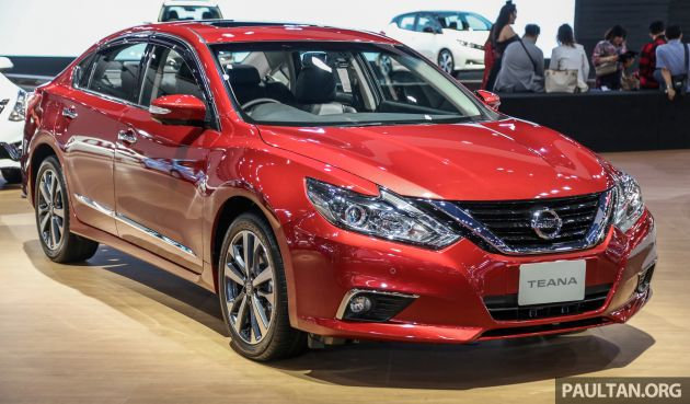 Bangkok 2019: Nissan Teana facelift, the forgotten one