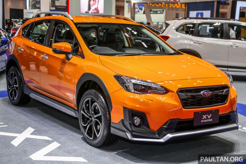 Bangkok 2019: Subaru XV GT Edition – bodykit, leather Image #941031