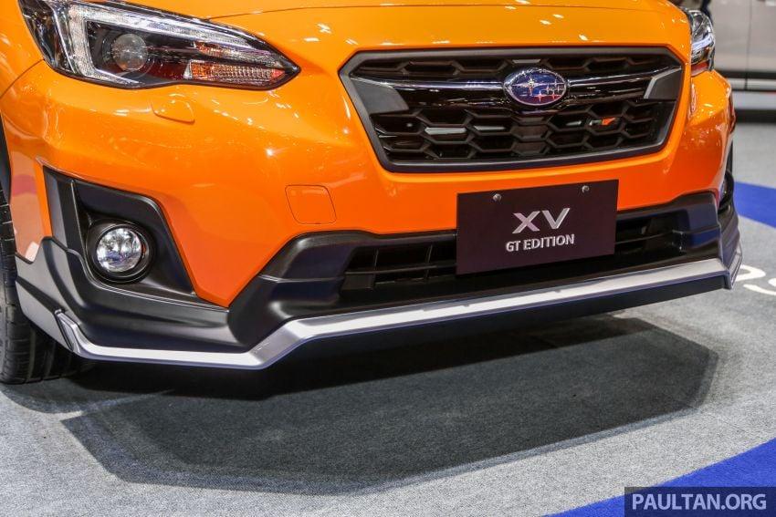 Bangkok 2019: Subaru XV GT Edition – bodykit, leather Image #941044