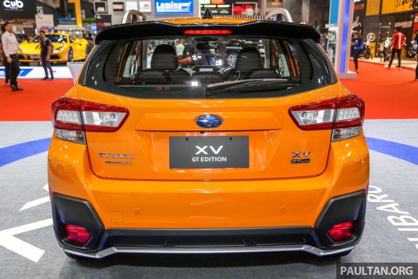 Bangkok 2019: Subaru XV GT Edition – bodykit, leather Image #941037