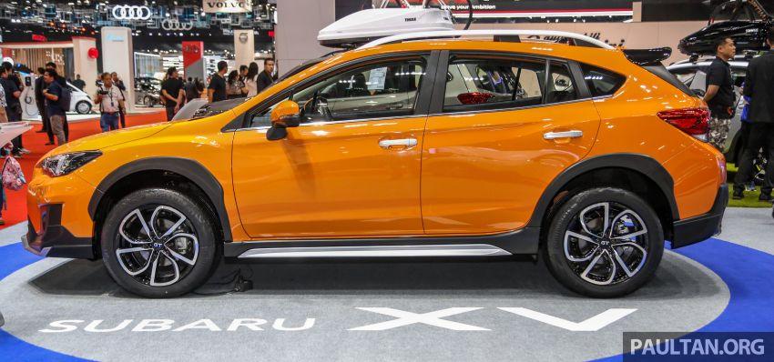 Bangkok 2019: Subaru XV GT Edition – bodykit, leather Image #941039