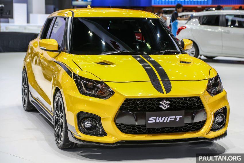 Bangkok 2019: Suzuki Swift Sport, halo car inspiration Image #942074