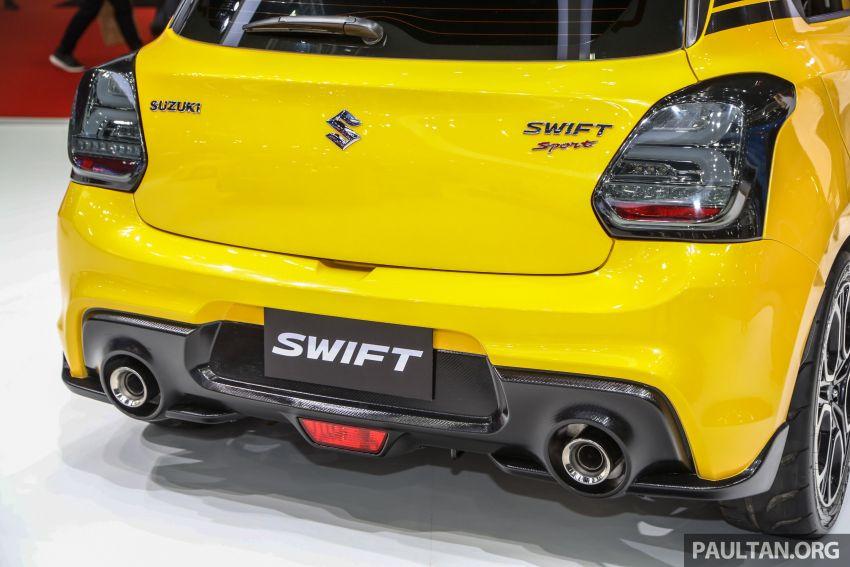 Bangkok 2019: Suzuki Swift Sport, halo car inspiration Image #942086