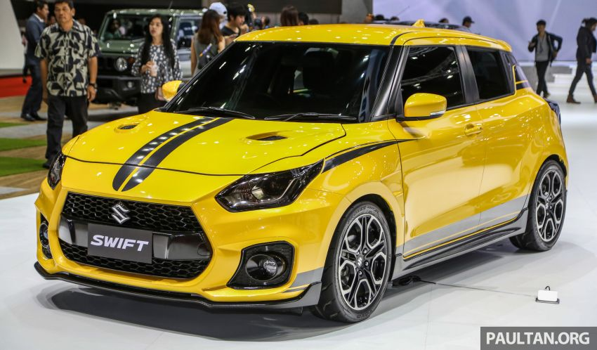 Bangkok 2019: Suzuki Swift Sport, halo car inspiration Image #942075