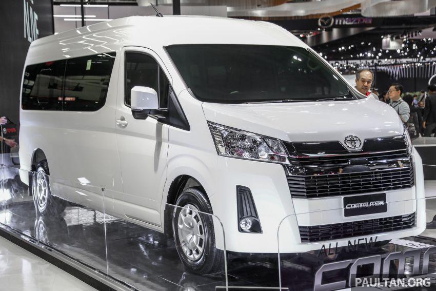 Bangkok 2019: New Toyota Commuter passenger van Image #941213