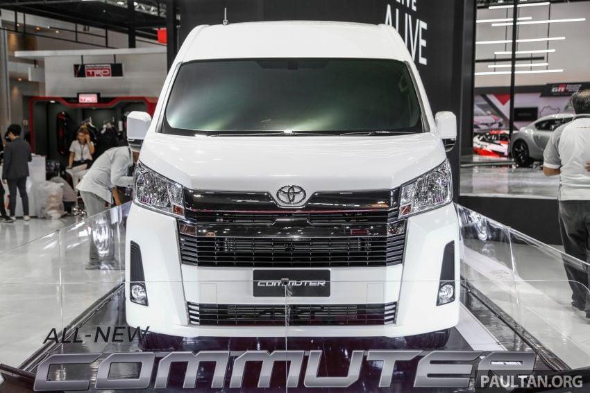Bangkok 2019: New Toyota Commuter passenger van Image #941216