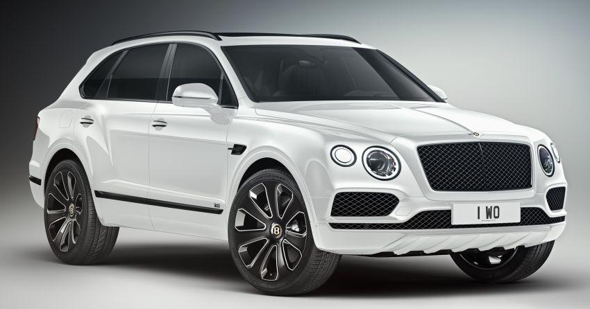 Bentley Bentayga V8 Design Series officially revealed Image #943366
