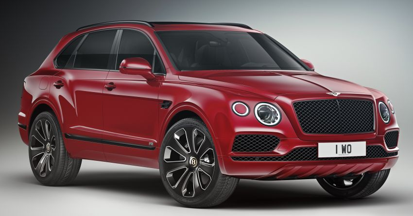 Bentley Bentayga V8 Design Series officially revealed Image #943367