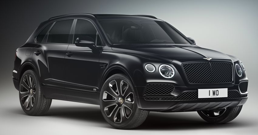 Bentley Bentayga V8 Design Series officially revealed Image #943371