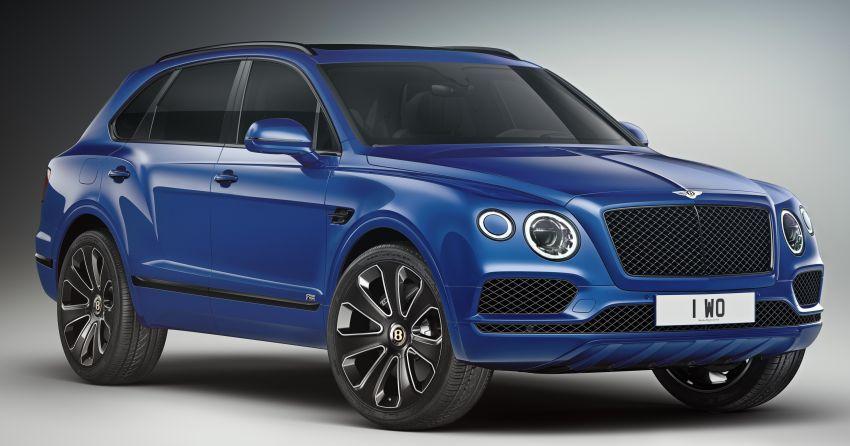 Bentley Bentayga V8 Design Series officially revealed Image #943374
