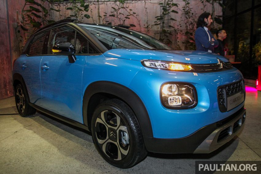 Citroen C3 Aircross launched in Malaysia – RM116k Image #952906