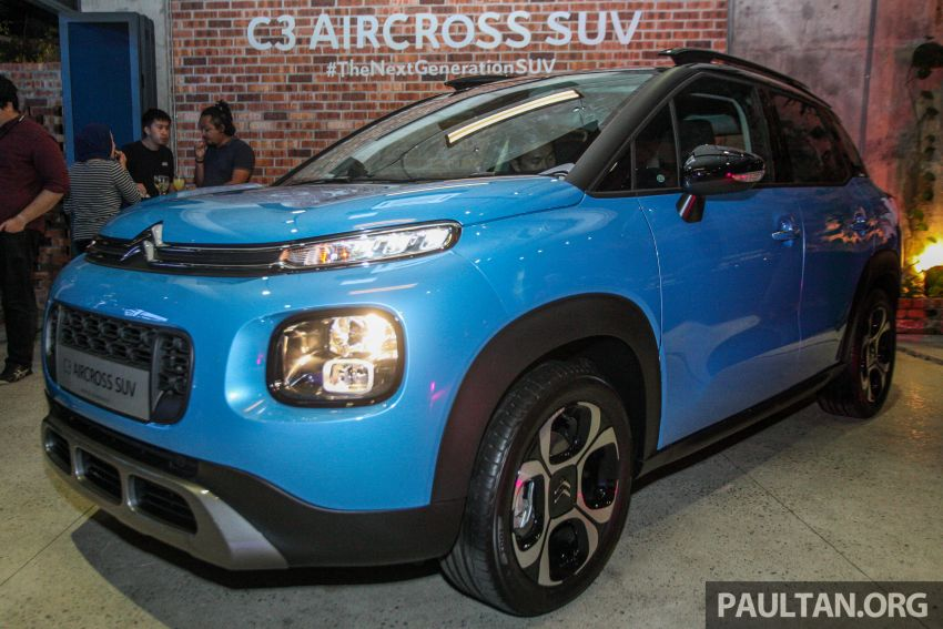 Citroen C3 Aircross launched in Malaysia – RM116k Image #952907