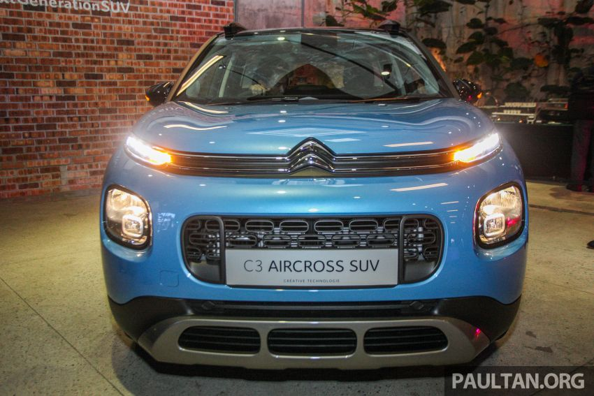 Citroen C3 Aircross launched in Malaysia – RM116k Image #952908