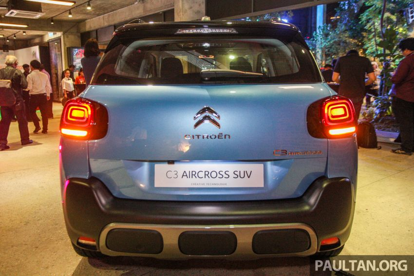 Citroen C3 Aircross launched in Malaysia – RM116k Image #952909
