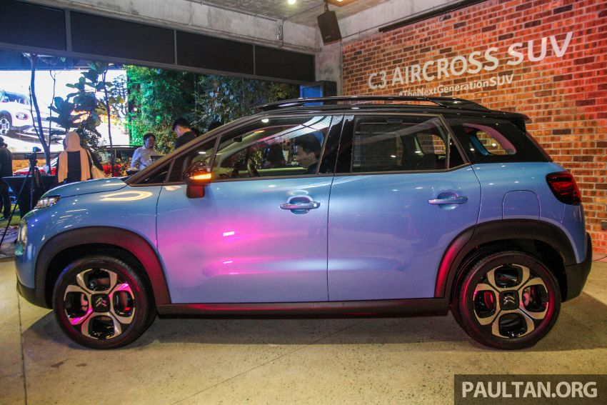 Citroen C3 Aircross launched in Malaysia – RM116k Image #952913