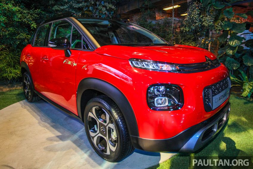 Citroen C3 Aircross launched in Malaysia – RM116k Image #952923