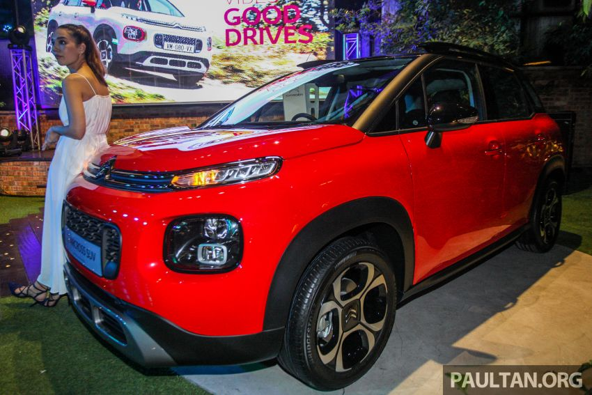 Citroen C3 Aircross launched in Malaysia – RM116k Image #952924