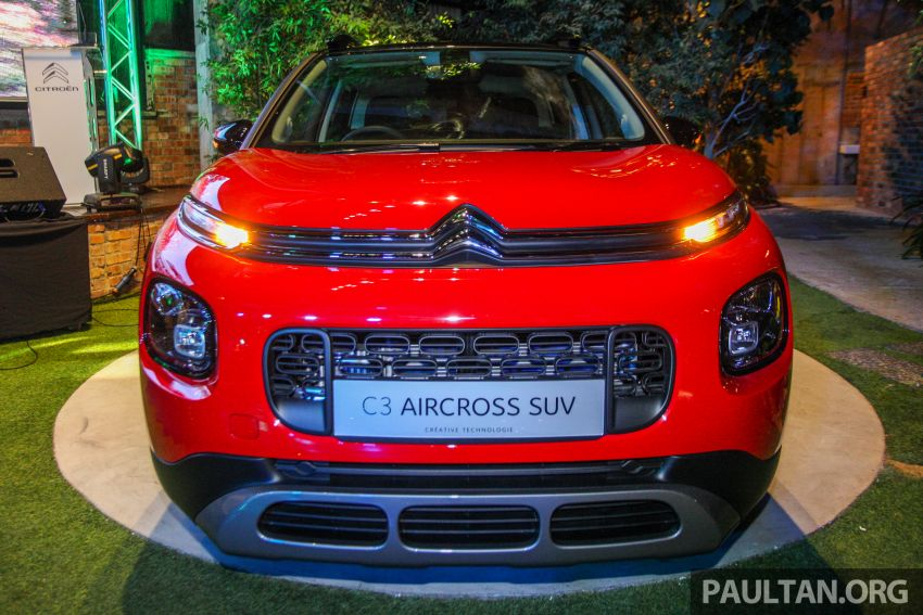 Citroen C3 Aircross launched in Malaysia – RM116k Image #952926