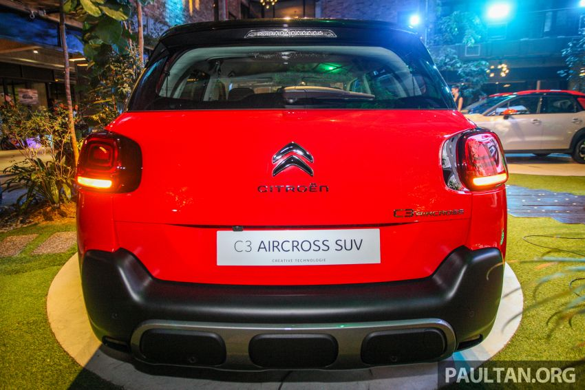 Citroen C3 Aircross launched in Malaysia – RM116k Image #952927