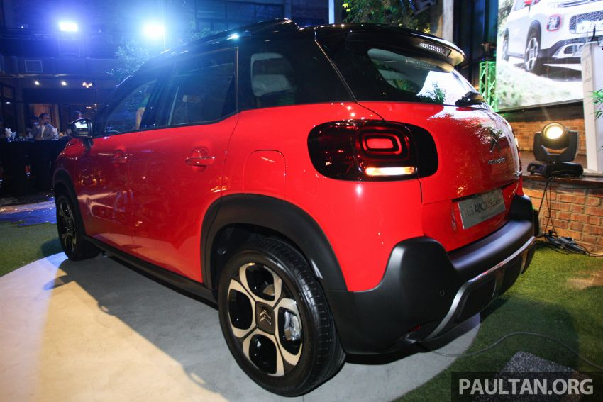 Citroen C3 Aircross launched in Malaysia – RM116k Image #952928