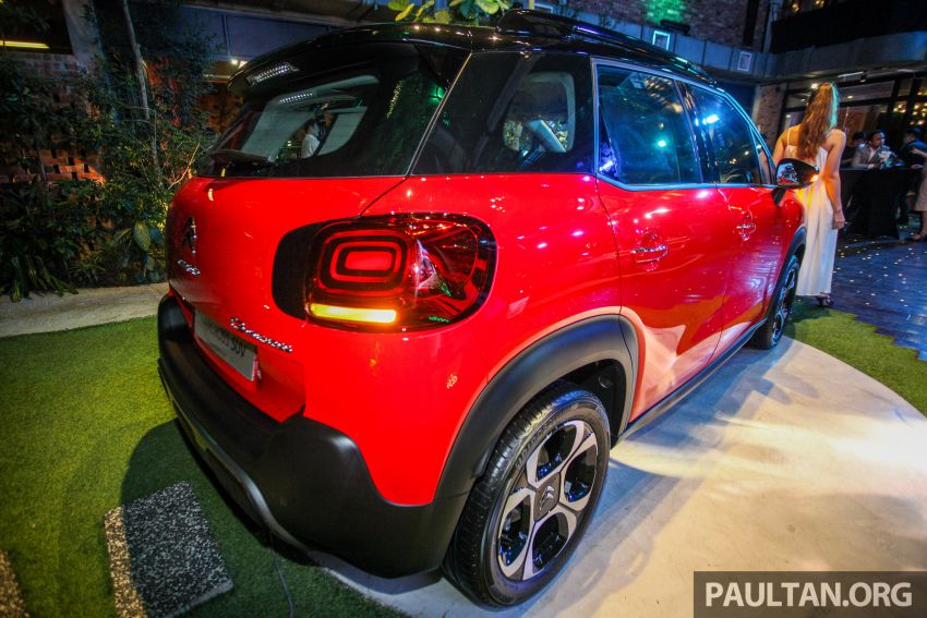 Citroen C3 Aircross launched in Malaysia – RM116k Image #952929