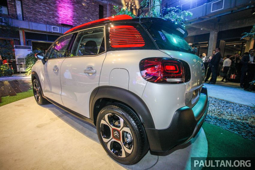 Citroen C3 Aircross launched in Malaysia – RM116k Image #952938