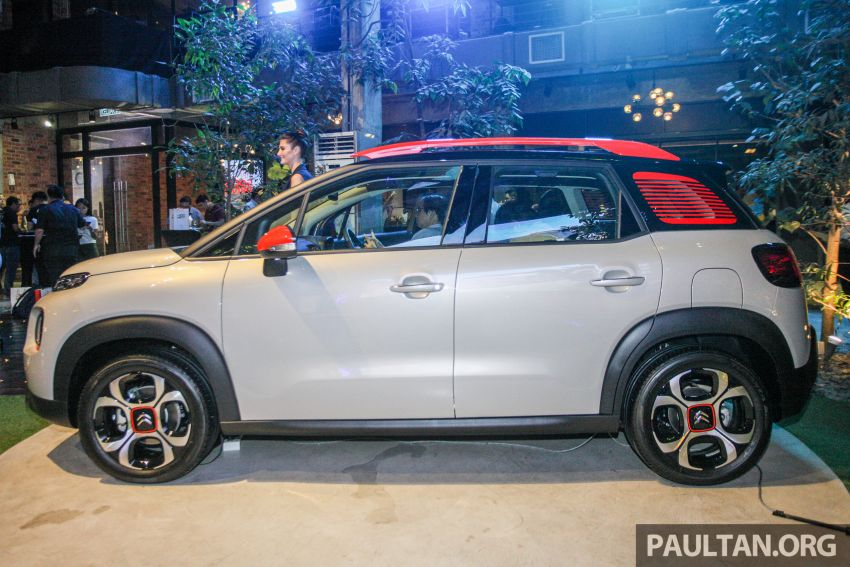 Citroen C3 Aircross launched in Malaysia – RM116k Image #952939