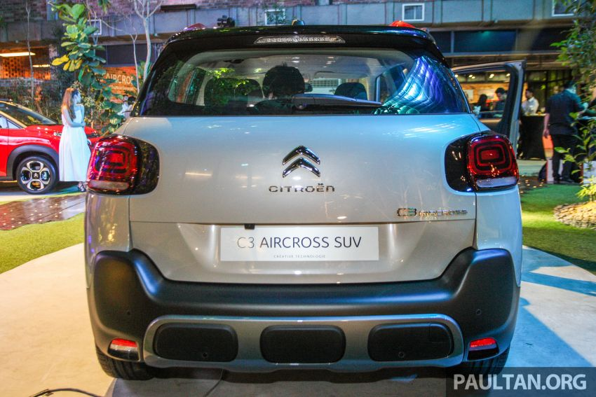Citroen C3 Aircross launched in Malaysia – RM116k Image #952940