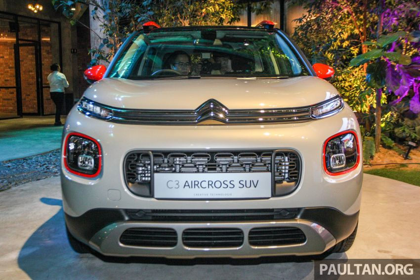 Citroen C3 Aircross launched in Malaysia – RM116k Image #952941