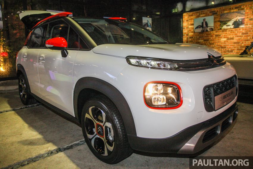 Citroen C3 Aircross launched in Malaysia – RM116k Image #952958