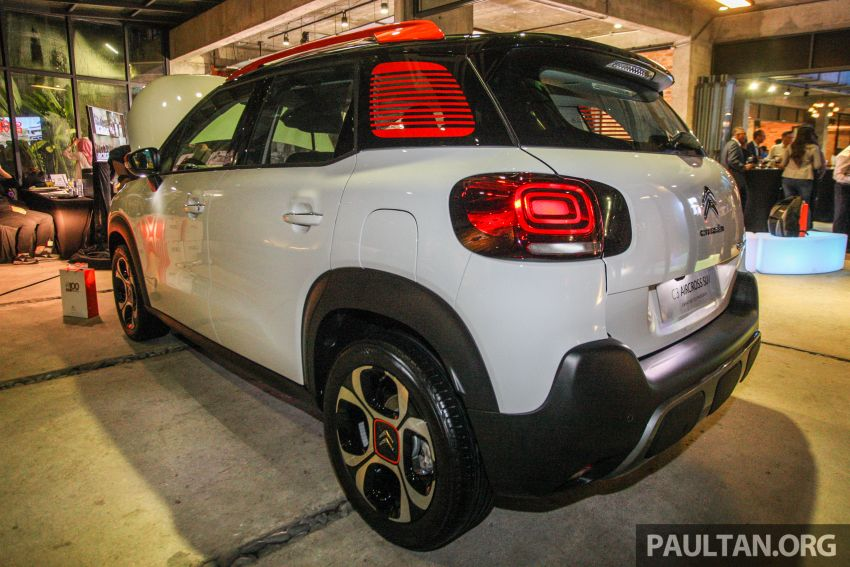 Citroen C3 Aircross launched in Malaysia – RM116k Image #952960