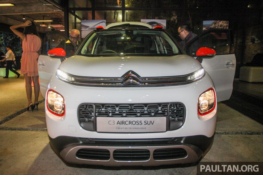 Citroen C3 Aircross launched in Malaysia – RM116k Image #952961