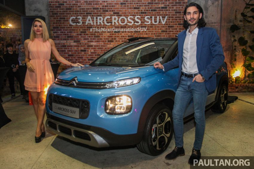 Citroen C3 Aircross launched in Malaysia – RM116k Image #952590