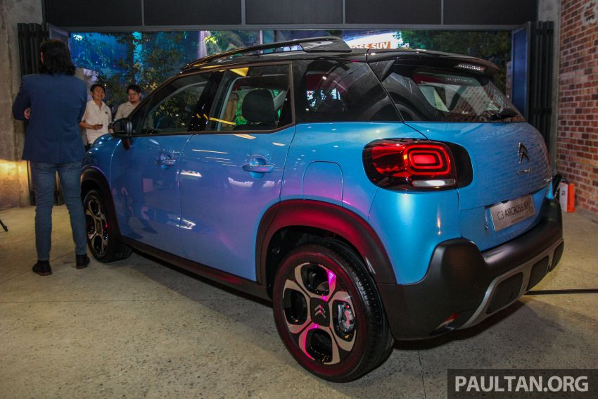 Citroen C3 Aircross launched in Malaysia – RM116k Image #952591