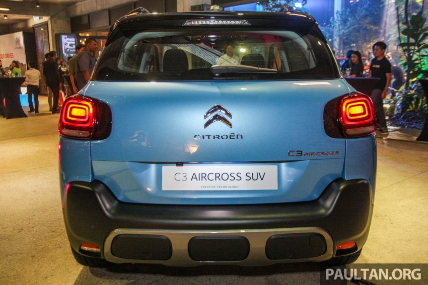 Citroen C3 Aircross launched in Malaysia – RM116k Image #952592