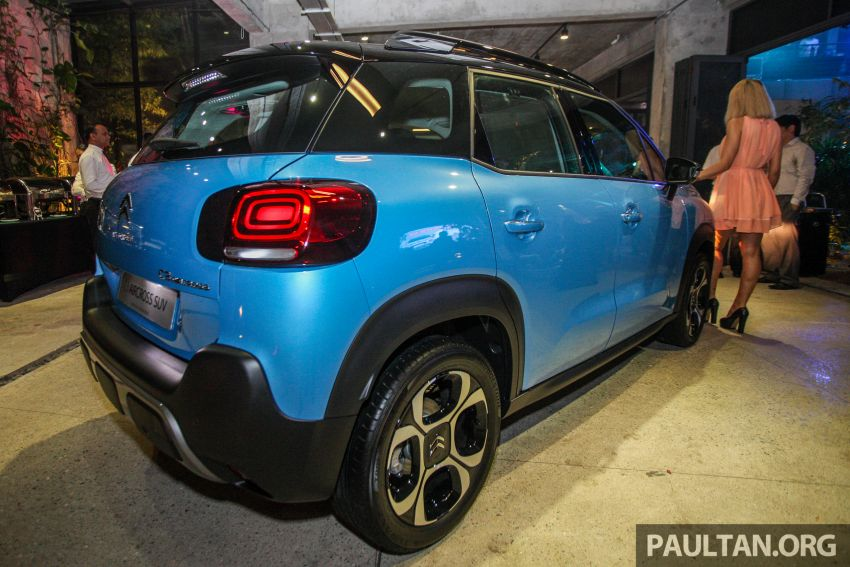 Citroen C3 Aircross launched in Malaysia – RM116k Image #952593