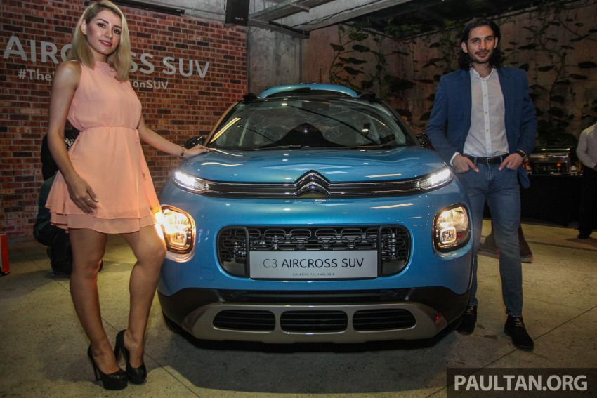 Citroen C3 Aircross launched in Malaysia – RM116k Image #952595