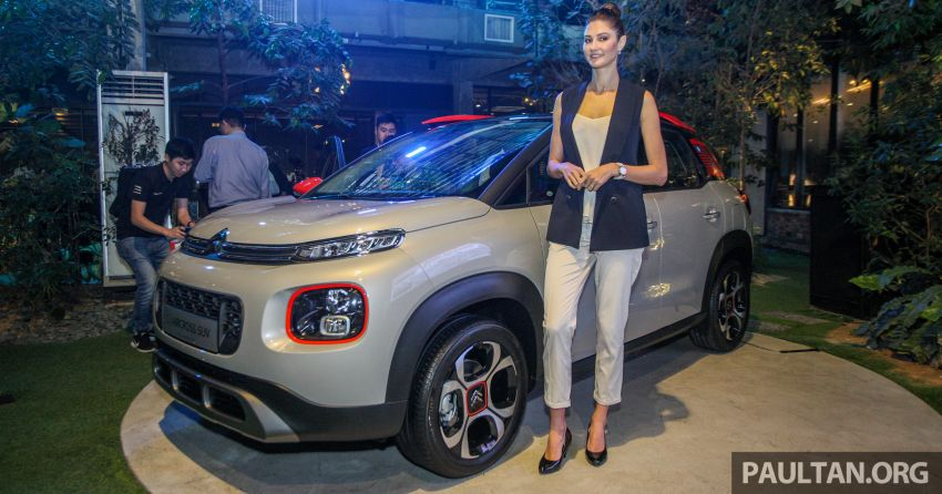 Citroen C3 Aircross launched in Malaysia – RM116k Image #952596