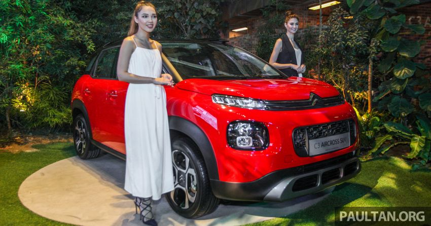 Citroen C3 Aircross launched in Malaysia – RM116k Image #952676