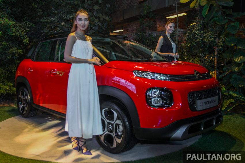 Citroen C3 Aircross launched in Malaysia – RM116k Image #952597