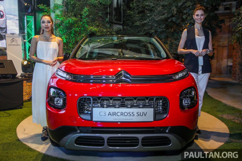 Citroen C3 Aircross launched in Malaysia – RM116k Image #952598