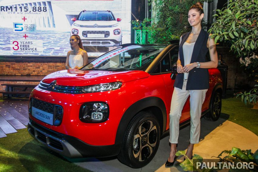 Citroen C3 Aircross launched in Malaysia – RM116k Image #952599