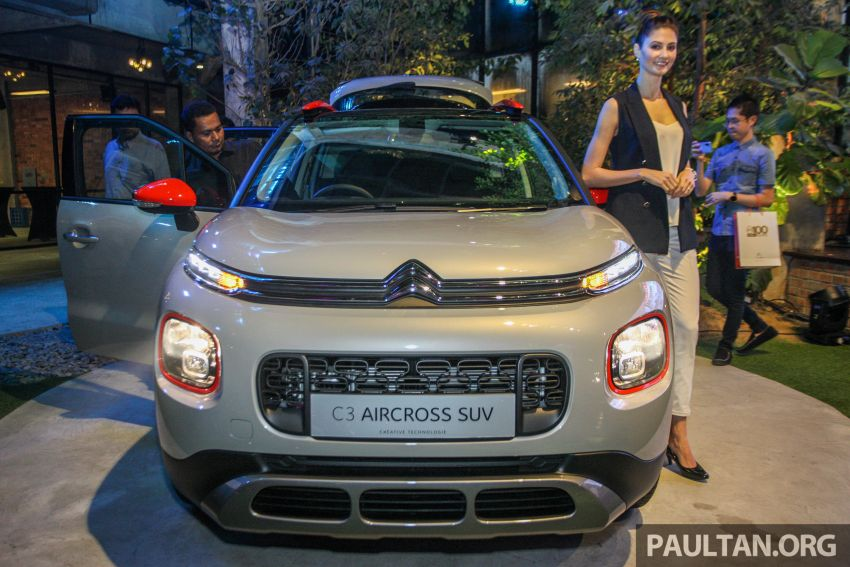 Citroen C3 Aircross launched in Malaysia – RM116k Image #952601