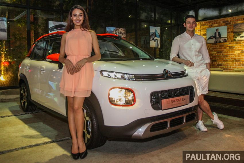 Citroen C3 Aircross launched in Malaysia – RM116k Image #952602