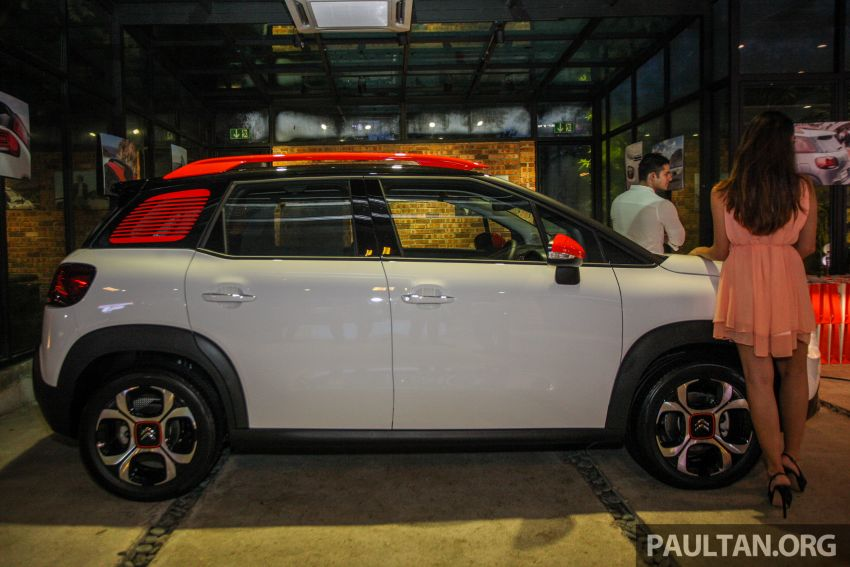 Citroen C3 Aircross launched in Malaysia – RM116k Image #952603
