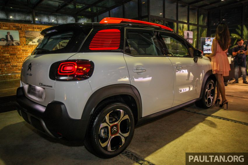 Citroen C3 Aircross launched in Malaysia – RM116k Image #952604