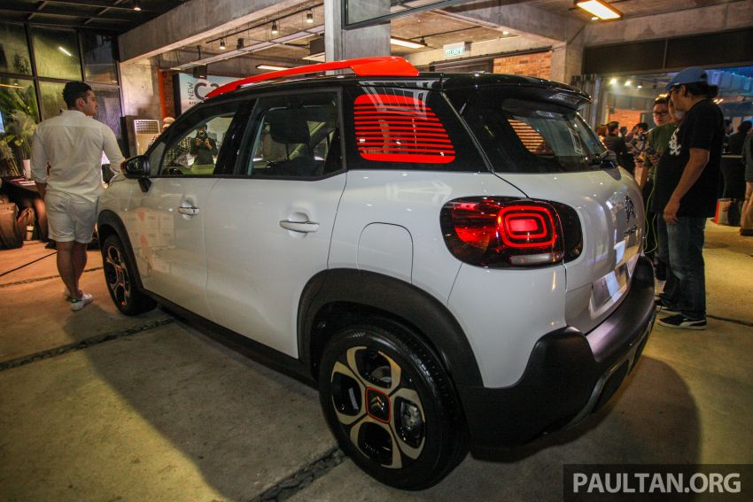Citroen C3 Aircross launched in Malaysia – RM116k Image #952605