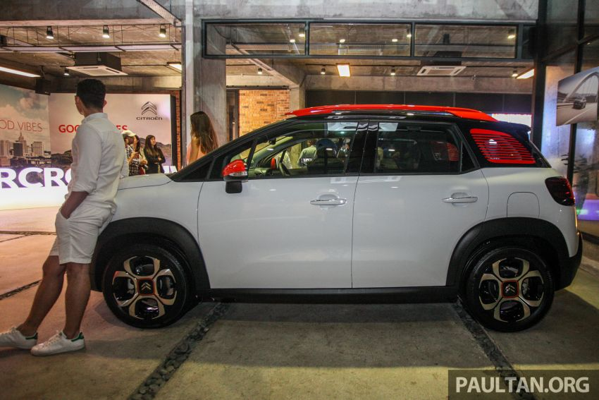 Citroen C3 Aircross launched in Malaysia – RM116k Image #952606